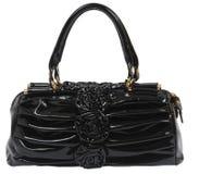 Handbag. Leather handbag, isolated for easy composing Royalty Free Stock Image