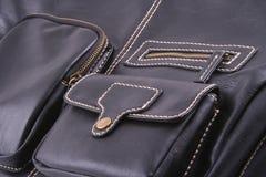 Handbag. Close-ups of leather handbag royalty free stock photo