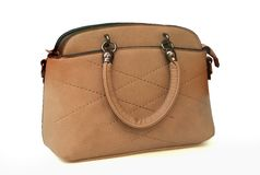 handbag Avec le chemin de coupure photo stock