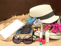 Handbag Content Royalty Free Stock Images