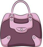 Handbag. Illustration of woman handbag, isolated Stock Photos