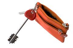 Handbag for key macro Stock Photo