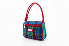 Handbag made of Thai silk. Stock Photos