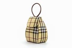 Handbag made of Thai silk Royalty Free Stock Photography