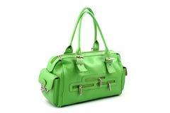 Handbag with pockets royalty free stock photo