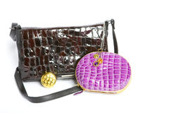Handbag  and a purse Royalty Free Stock Photography