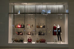Handbag purse store Stock Photography