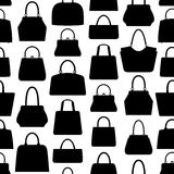 Handbag seamless pattern. Stock Images