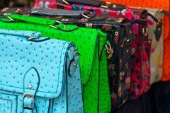 Handbag selection Stock Images