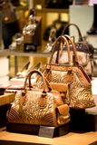 Handbag and Shoe Shop. Image of a shop selling handbags and shoes in Malaysia Royalty Free Stock Image