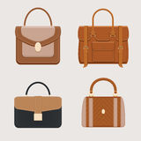 Handbags business collection Royalty Free Stock Photos