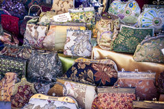 Handbags on Display Royalty Free Stock Images