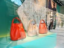 Handbags Paris Trend 2016 Royalty Free Stock Photos