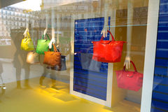 Handbags Paris 2015 Stock Photos