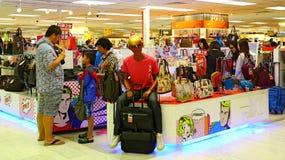 Handbags store interior Stock Image