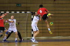Handbal attac stock foto