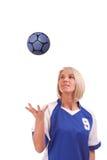 handball żeński gracz Fotografia Royalty Free