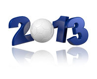 Handball 2013 design. With a white background stock illustration