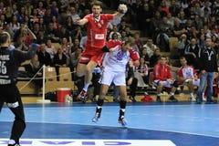 handball Fotografia Stock Libera da Diritti
