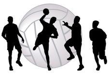 Handball Fotografia de Stock