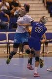 Handball action Stock Photos