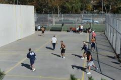 Handball américain Photo libre de droits
