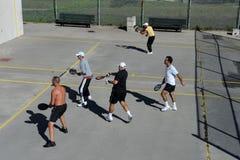 Handball américain Image libre de droits