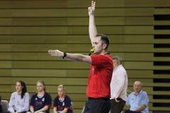 handball arbiter Obraz Royalty Free