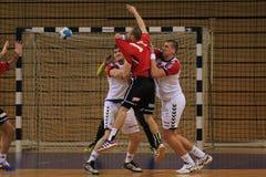 Handball asysta Zdjęcie Royalty Free