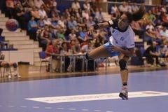 Handball attack Stock Photography