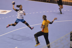 Handball attack Royalty Free Stock Photos