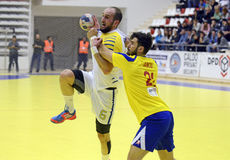 Handball Attack Royalty Free Stock Images