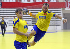 Handball Attack Stock Images