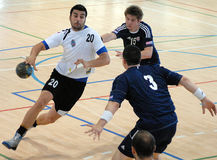 Handball Attack Royalty Free Stock Photography