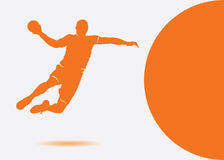 Handball background Royalty Free Stock Image