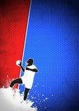 Handball background Stock Photo