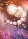 Handball background Stock Image