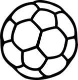 Handball Ball Pictogram royalty free illustration