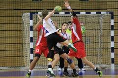Handball cel Zdjęcie Stock