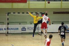 Handball counterattack Royalty Free Stock Photo