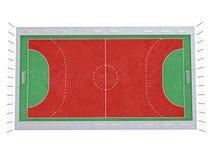 Handball court Royalty Free Stock Photo