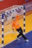 Handball Czech Republic - Latvia Stock Photo