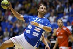 Handball d'Aalborg - dolez FH Image stock