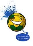 handball da bola Fotografia de Stock Royalty Free