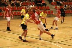 Handball de AaB - Ikast FS Imagens de Stock Royalty Free