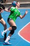 Handball 2013 de GCUP. Granollers. Photo libre de droits