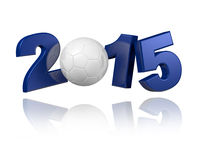 Handball 2015 design. With a white background Royalty Free Stock Images