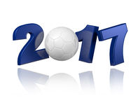 Handball 2017 design Stock Image