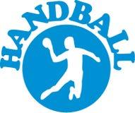 Handball emblemat Fotografia Royalty Free