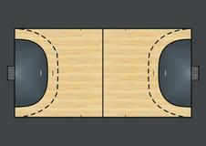 Handball field Royalty Free Stock Photography